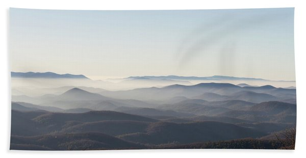 View From Blood Mountain Beach Towel