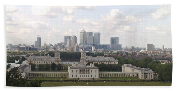 View From Greenwich 1 Beach Towel