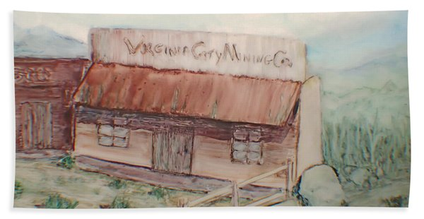 Virginia City Mining Co. Beach Towel