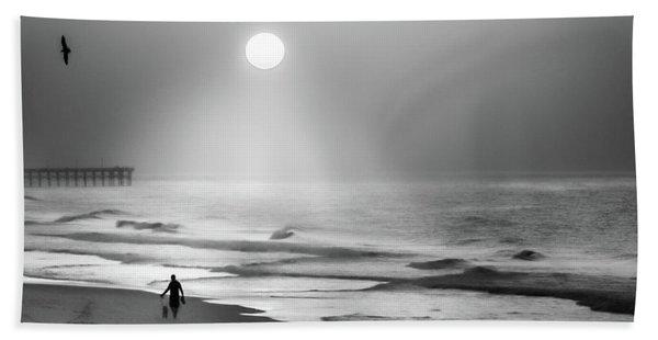 Walk Beneath The Moon Beach Towel