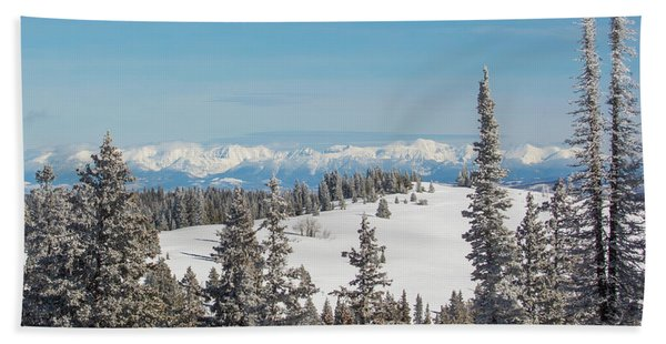Walton Peak  Beach Towel