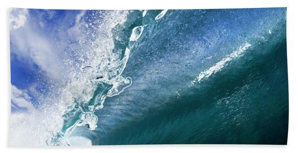 Water Confetti Beach Towel
