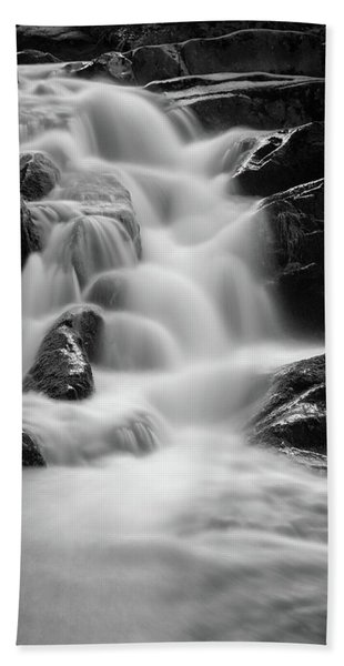 water stair in Ilsetal, Harz Beach Towel