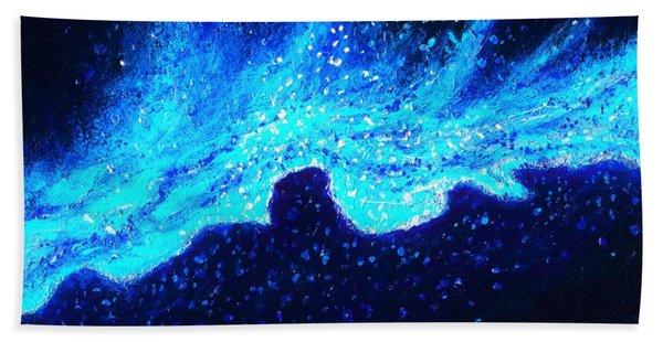 Wave Nebula Beach Sheet