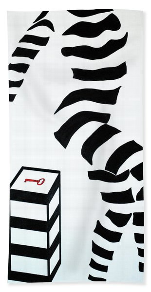 What Are You Waiting For? Beach Towel