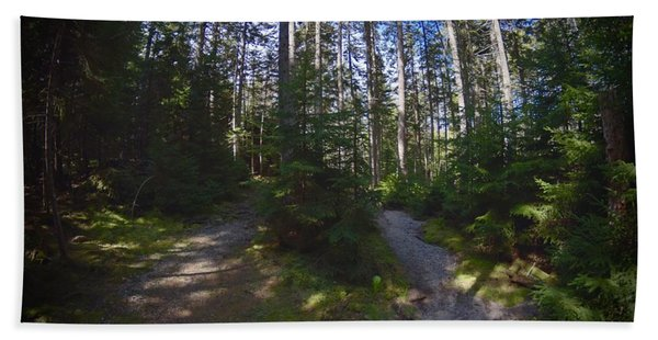 Which Path? Beach Towel