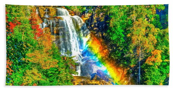 Whitewater Rainbow Beach Towel