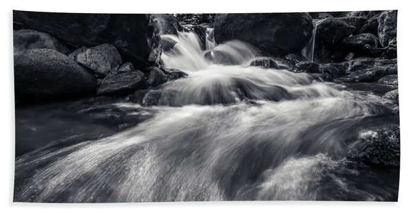 wild creek in Harz, Germany Beach Towel