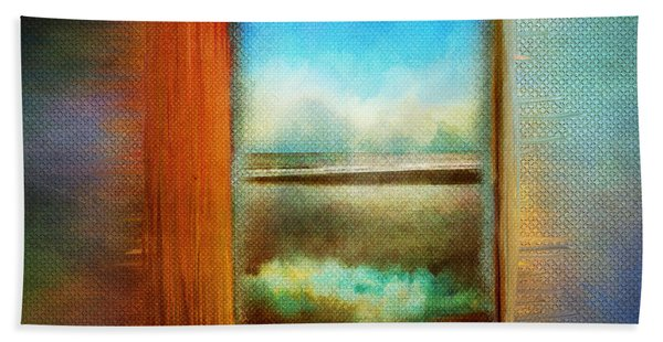 Window To Anywhere Beach Towel