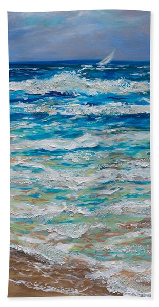 Windy Day 40 Beach Towel