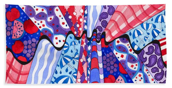 Wrinkle In The Fabrics Of Space Time Beach Towel