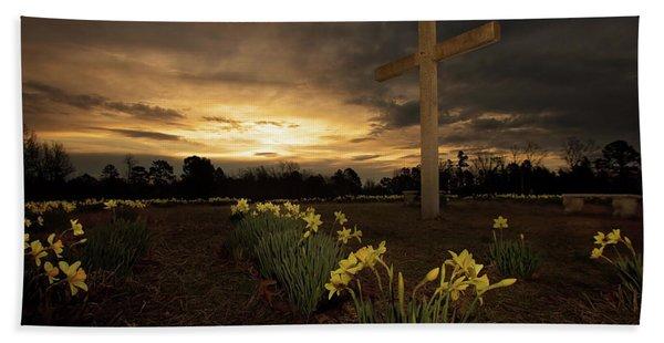 Wye Mountain Sunset Beach Towel