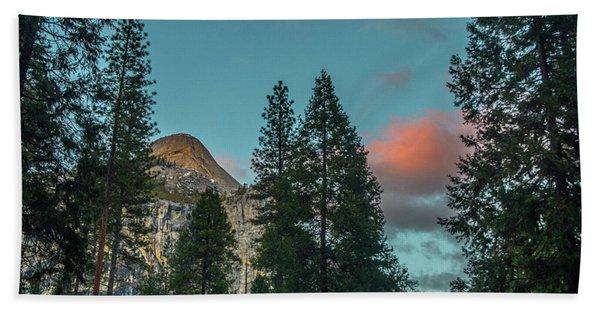 Yosemite Campside Evening Beach Towel
