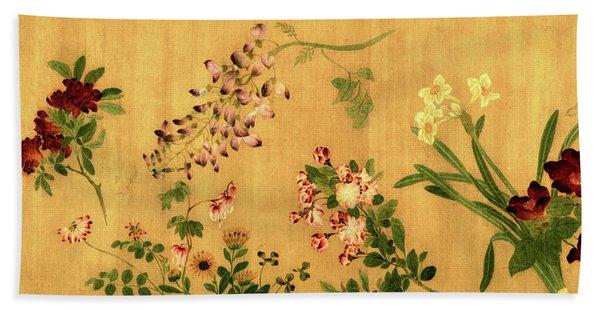Yuan's Hundred Flowers Beach Sheet