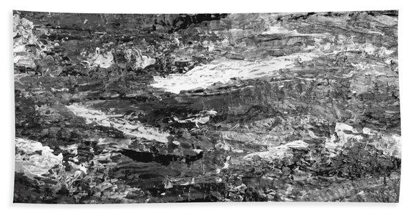 Zen Abstract A723b Beach Towel