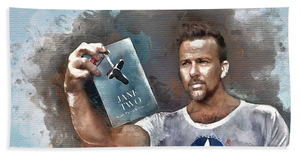 Flanery With Jane Two Beach Towel