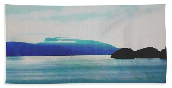 Gulf Islands Beach Towel