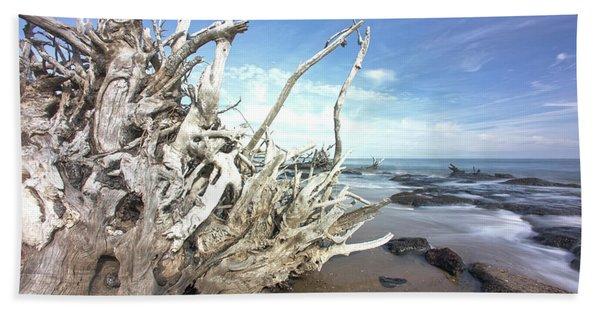 In The Rocks Beach Towel