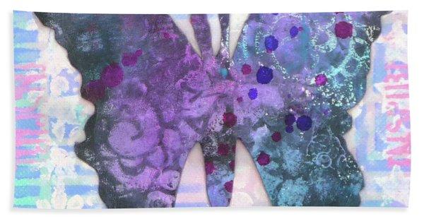 Inspire Butterfly Beach Towel