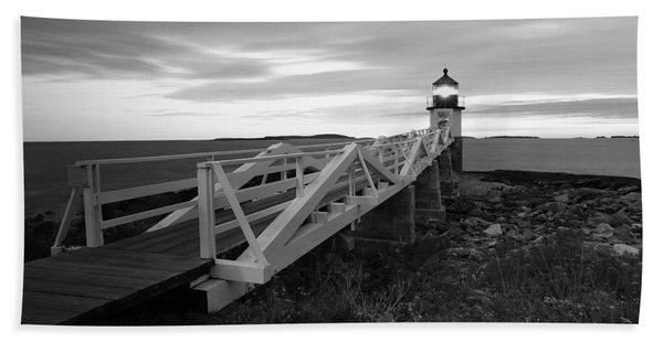 Marshall Point Light Beach Towel