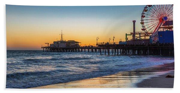 Pacific Park On The Pier Beach Sheet