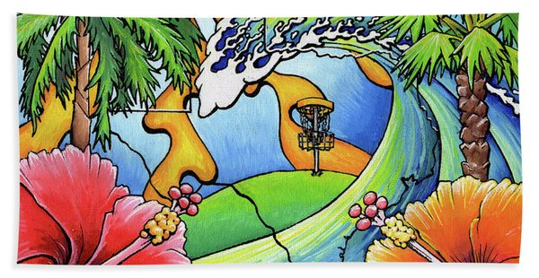 South Texas Disc Golf Beach Towel