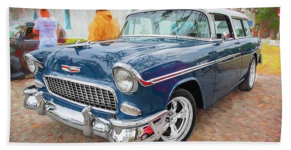 1955 Chevrolet Bel Air Nomad Station Wagon 205 Beach Towel