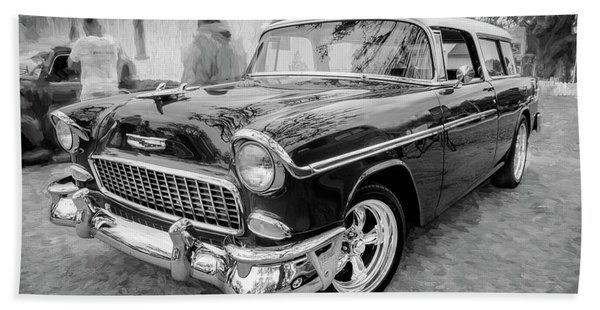 1955 Chevrolet Bel Air Nomad Station Wagon 206 Beach Towel
