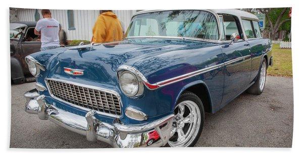 1955 Chevrolet Bel Air Nomad Station Wagon 208 Beach Towel
