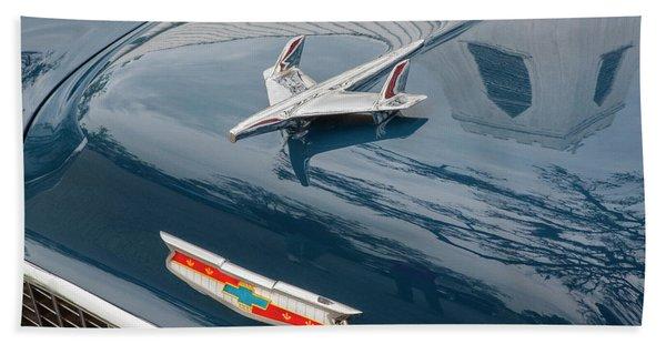 1955 Chevrolet Bel Air Nomad Station Wagon 209 Beach Towel