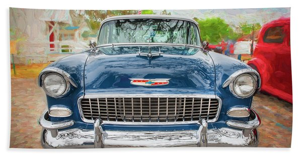 1955 Chevrolet Bel Air Nomad Station Wagon 211 Beach Towel