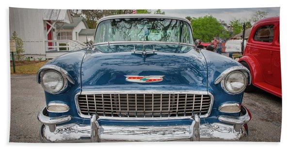 1955 Chevrolet Bel Air Nomad Station Wagon 213 Beach Towel