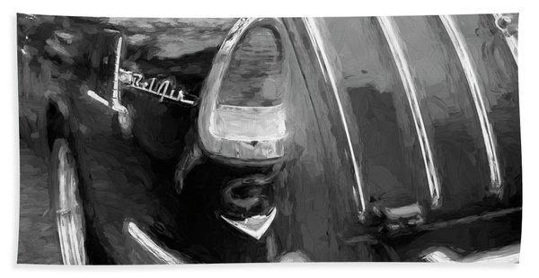 1955 Chevrolet Bel Air Nomad Station Wagon 216 Beach Towel