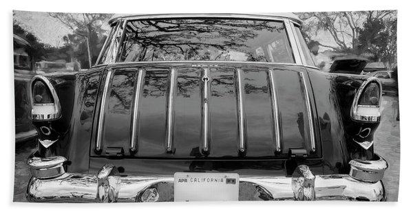 1955 Chevrolet Bel Air Nomad Station Wagon 220 Beach Towel