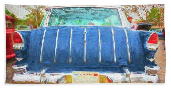 1955 Chevrolet Bel Air Nomad Station Wagon 221 Beach Towel