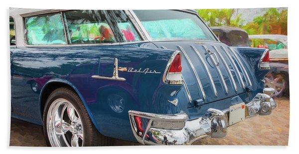 1955 Chevrolet Bel Air Nomad Station Wagon 226 Beach Towel