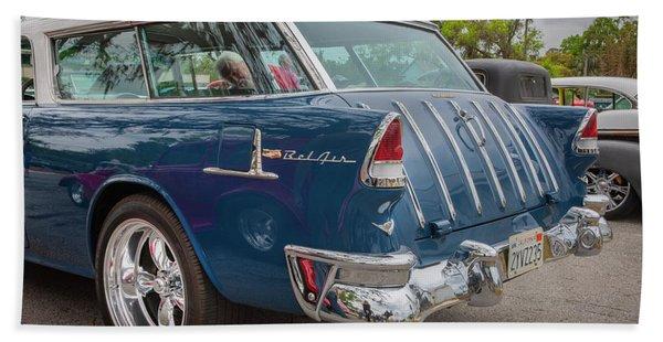 1955 Chevrolet Bel Air Nomad Station Wagon 229 Beach Towel