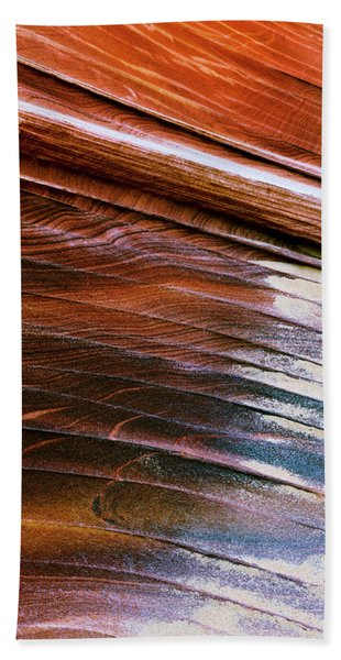 Rock Formations, Vermillion Cliffs Beach Towel