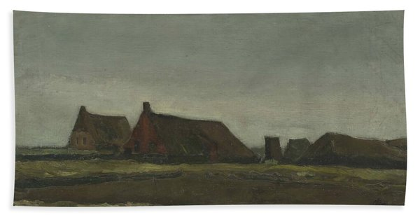Cottages Beach Towel