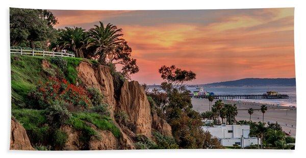A Nice Evening In The Park Beach Sheet