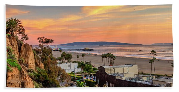 A Nice Evening In The Park - Panorama Beach Towel