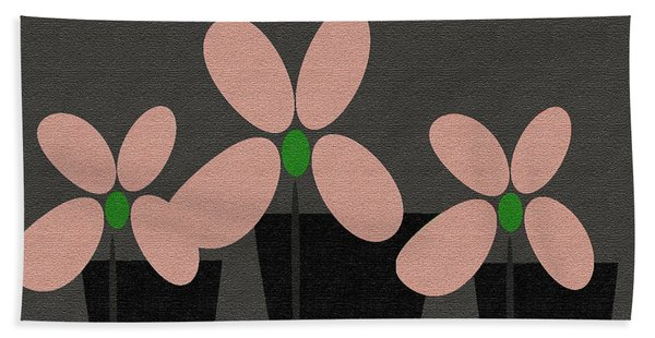 Abstract Floral Art 394 Beach Towel