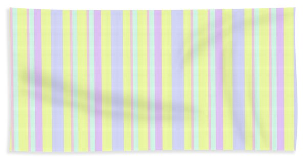 Abstract Fresh Color Lines Background - Dde595 Beach Sheet