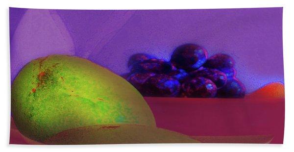 Abstract Fruit Art  109 Beach Sheet