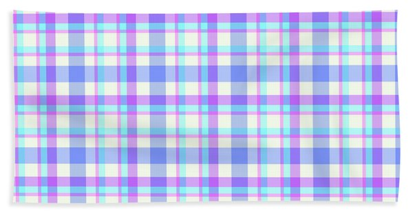 Abstract Squares Background - Dde598 Beach Sheet