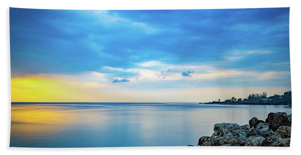 Almost Sunset Beach Towel