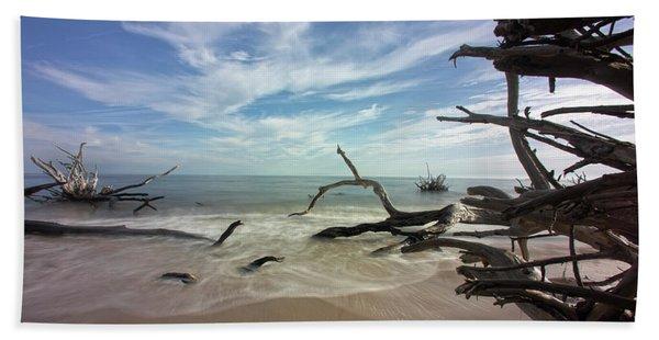 Along The Sand Beach Towel