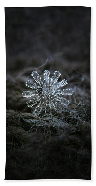December 18 2015 - Snowflake 3 Beach Towel