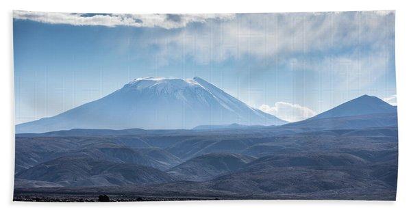 Atacama Volcano Beach Towel