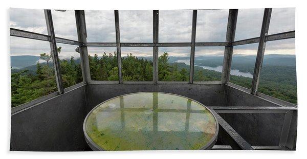 Bald Mountain Firetower Ne Beach Towel